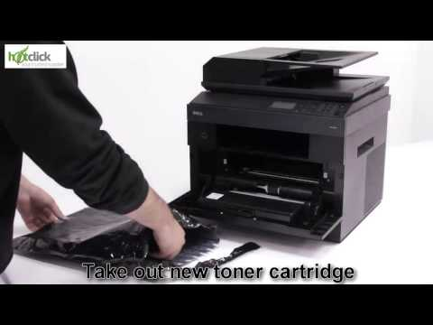 dell 2335dn toner replacement instructions