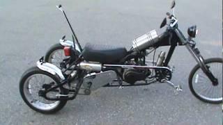getlinkyoutube.com-homemade moped trike first ride