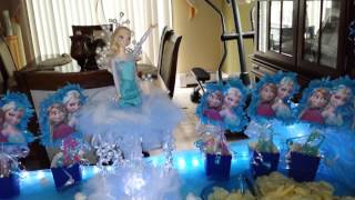 getlinkyoutube.com-Frozen movie party ideas