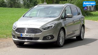 getlinkyoutube.com-2016 Ford S-Max (240hp) EcoBoost - First DRIVE (60FPS)