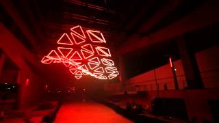 getlinkyoutube.com-GRID - monumental kinetic light installation
