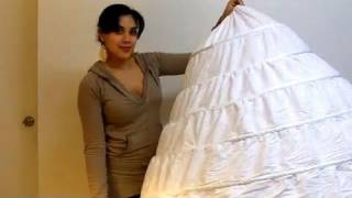 getlinkyoutube.com-How Crinolines come in the mail | Lucy's Corsetry