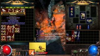 getlinkyoutube.com-Kripparrian Gets One Shot By Kole in Onslaught League Path of Exile