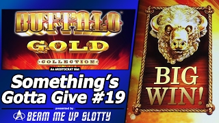 getlinkyoutube.com-Something's Gotta Give #19 - Big Win in Attempt #3 on Buffalo Gold Collection Slot by Aristocrat