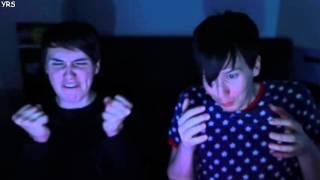 getlinkyoutube.com-Dan and Phil Play FIVE NIGHTS AT FREDDY'S 4 rus sub