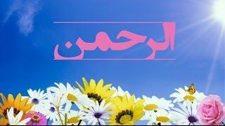 بهترین تلاوت از سوره الرحمن | المفلحون HD