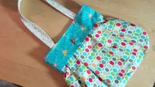 getlinkyoutube.com-A fun reversible handbag for you to sew by Debbie Shore