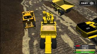 getlinkyoutube.com-Chantier / Travaux / Baustelle #2 : Farming Simulator 2011