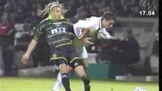 Henrik Larsson - złamana noga