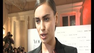 "getlinkyoutube.com-Irina Shayk: ""Cristiano is better"""