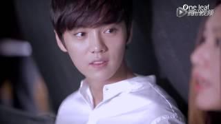 getlinkyoutube.com-150110 One Leaf CF BTS - Luhan