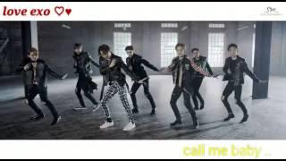 getlinkyoutube.com-Exo call me baby ♡♥ ترجمة فكاهية