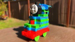 getlinkyoutube.com-Thomas and Friends Percy Toy Trains Disney Cars Toys McQueen Thomas y Sus Amigos