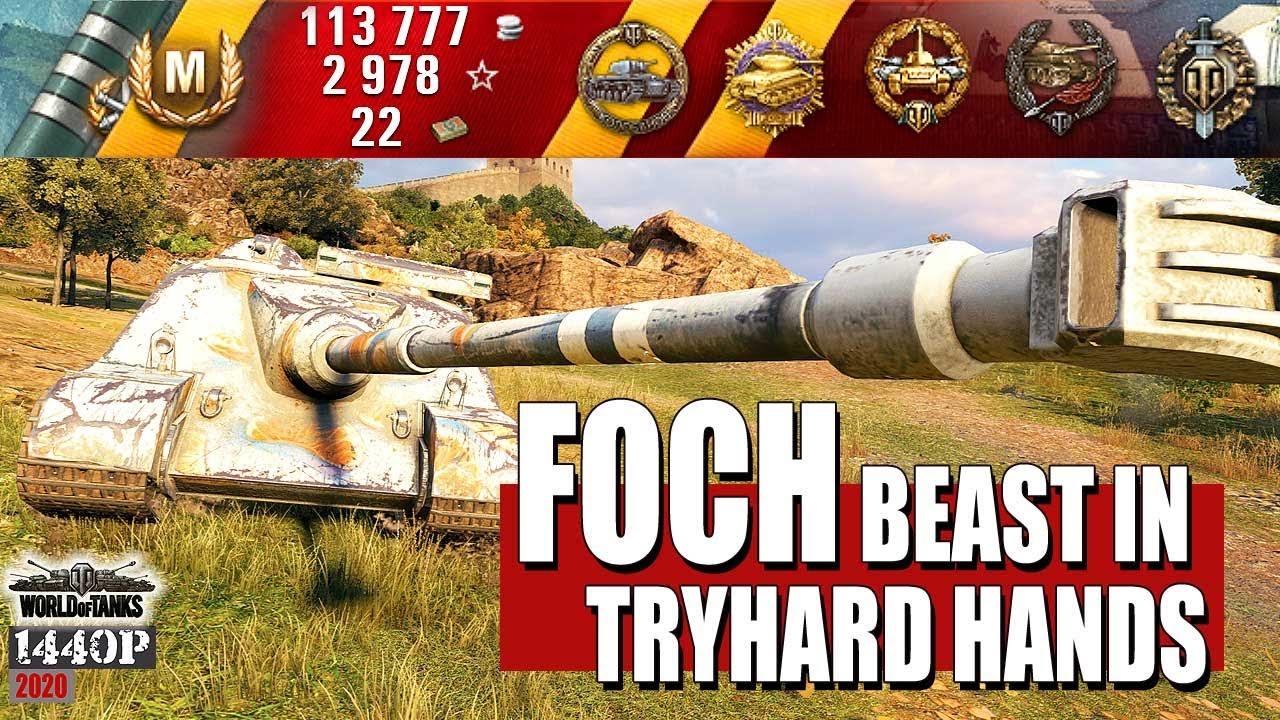 AMX 50 Foch: Beast in tryhard hands