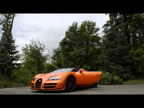 Bugatti Veyron 16.4 Grand Sport Vitesse Press Drives in the US