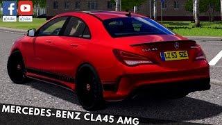 getlinkyoutube.com-City Car Driving - Mercedes-Benz CLA45 AMG | + Download [LINK] | 1080p & 60FPS