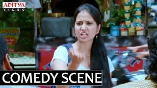getlinkyoutube.com-SVSC Movie - Mahesh Babu Teasing College Girl Funny Scene - Samantha, Venkatesh, Anjali