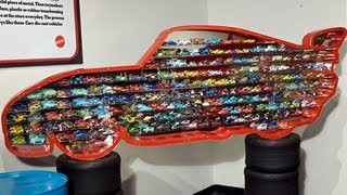 getlinkyoutube.com-OVER 100 Cars Diecast Collection Lightning McQueen Display DisneyPixarCars
