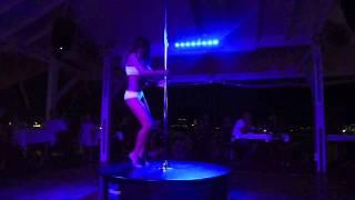 getlinkyoutube.com-Extreme Pole Dance Show - Marion Crampe