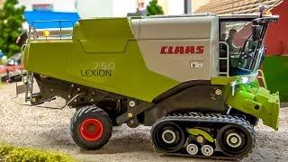 getlinkyoutube.com-RC tractor combine DREAM Toys! Farming machine Action, amazing R/C models!