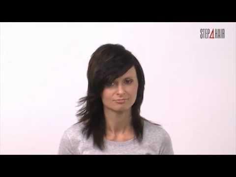 Jak wykonać : strzyżenie damskie włosów długich w separacji diamentu oraz koloryzację.