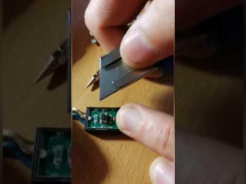 Hyundai Santa Fe 3 (DM) ремонт кнопки безключевого доступа двери