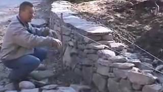 getlinkyoutube.com-How to Build a New England Fieldstone Wall by David Croteau