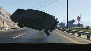 getlinkyoutube.com-GTA 5 CAR CRASHES AND ROAD RAGE COMPILATION #1 | Dashcams, CCTV