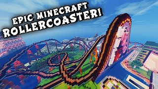 getlinkyoutube.com-Minecraft Maps - EPIC ROLLERCOASTER! (When Pigs Fly Rollercoaster)