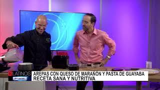 Eddie Garza nos dice como hacer Arepas con Queso de Marañón y Pasta de Guayaba