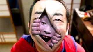 getlinkyoutube.com-恐怖動画!古民家に現れた隙間男! Stalking Vampire 1