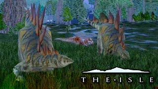 getlinkyoutube.com-Stegosaurs Ambushed!! - The Isle