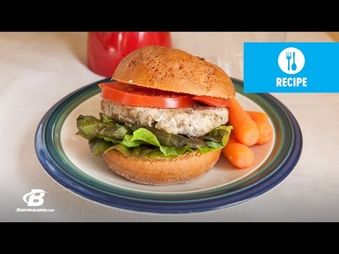 Healthy Recipes: Italian Turkey Burgers @Bodybuildingcom