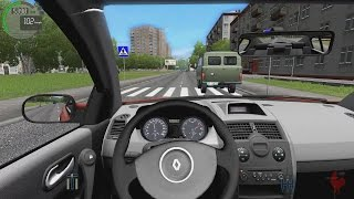 getlinkyoutube.com-City Car Driving - Renault Megane 2.0i | Street Racing