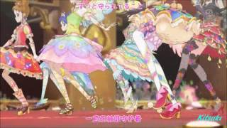 getlinkyoutube.com-【HD】Aikatsu! - episode 49 - All 7 girls - Moonlight destiny【中文字幕】