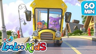The Wheels On The Bus - THE BEST Nursery Rhymes for Children from Hello Mr. Freckles | LooLoo Kids