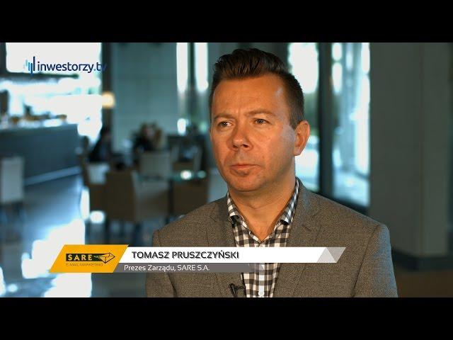 Tomasz Pruszczyński, Prezes Zarządu, SARE S.A., #4 PREZENTACJE WYNIKÓW