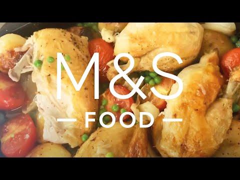 Chris' All-In-One Midweek Roast Chicken Traybake | M&S FOOD