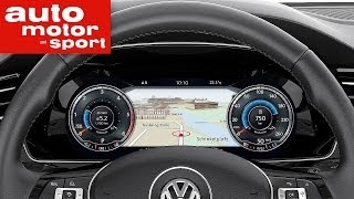 getlinkyoutube.com-Active Info Display des VW Passat