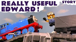 Thomas and Friends Toy Trains Accident Episode with funny Minions - Train Toys For Kids ToyTrains4u