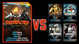 getlinkyoutube.com-Real Steel WRB FINAL DREADLORD Series of fights Halloween NEW ROBOT (Живая Сталь)