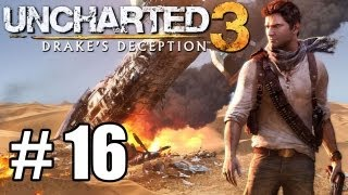 Uncharted 3 Walkthrough Part 16 HD - Smoke Ambush