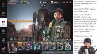 getlinkyoutube.com-Star Wars: Force Arena - Random 2v2 w/Glutenslayer Stream