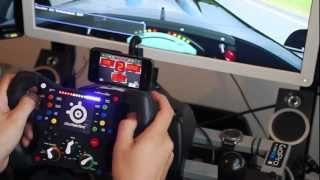 getlinkyoutube.com-Sim Racing Cockpit with 3 Screens and Quick Release system
