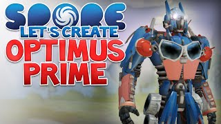 getlinkyoutube.com-SPORE: OPTIMUS PRIME! - Let's Create | Spore Modded (Transformers)