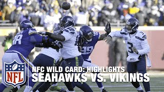 getlinkyoutube.com-Seahawks vs. Vikings | NFC Wild Card Highlights | NFL