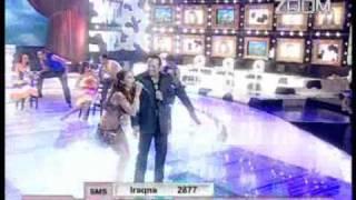 getlinkyoutube.com-Haifa Wehbe and Hisham Abbas Ya Salam 3a 7obi w 7obak