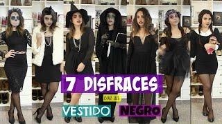 getlinkyoutube.com-7 DISFRACES CON UN VESTIDO NEGRO | What The Chic