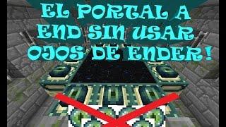 como encontrar el portal al fin en minecraft sin ojos de ender
