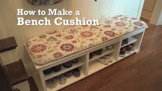 getlinkyoutube.com-How to Make a Bench Cushion
